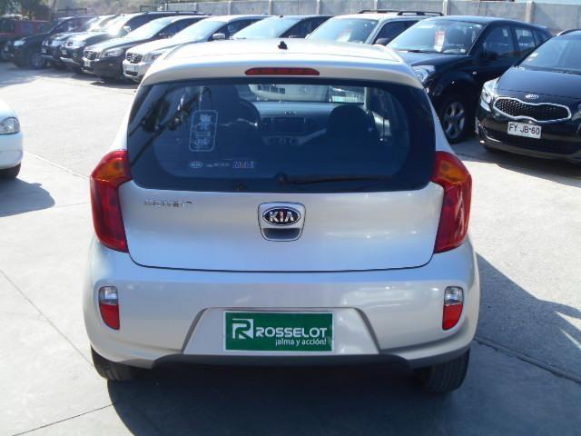Autos Rosselot Kia Morning lx 1.0 5mt - 1415  2015