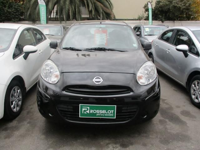 Autos Rosselot Nissan March active 1.6 2015