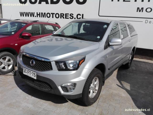 Camionetas Hernández Motores Ssangyong Actyon 2014