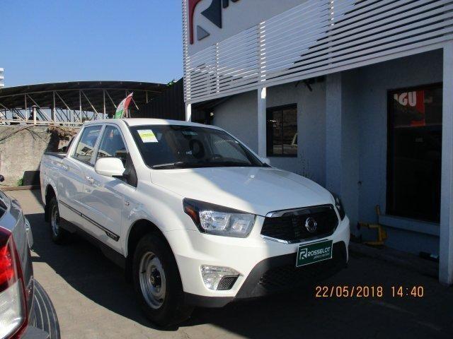 Camionetas Rosselot Ssangyong New actyon sport 4x4 2.0 mt aa nas710aa  2017