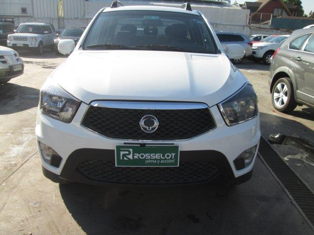 Camionetas Rosselot Ssangyong New actyon sport 4x4 2.0 mt ll-nas712-euro iv 2013