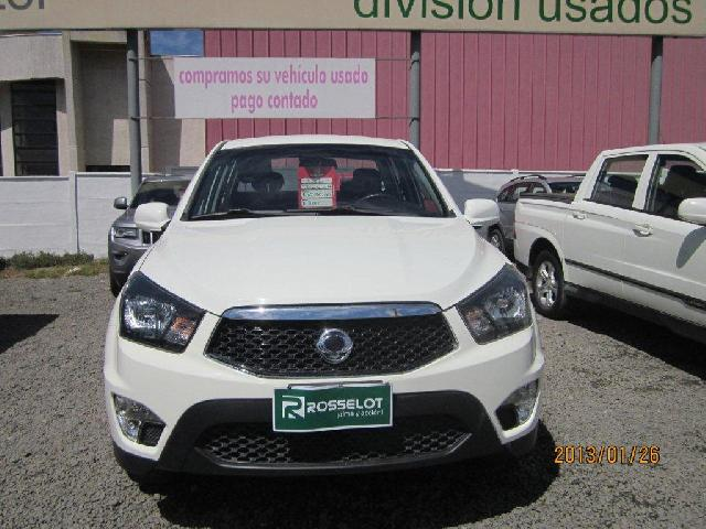 Camionetas Rosselot Ssangyong New actyon sport 4x2 2.0 mt aa-euro v-nas610aa  2016