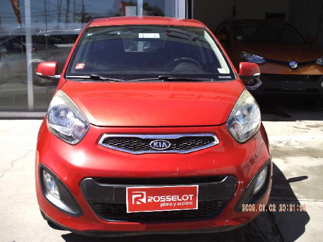 Autos Rosselot Kia MORNING EX 1.2 MT DH AB-1293 2011