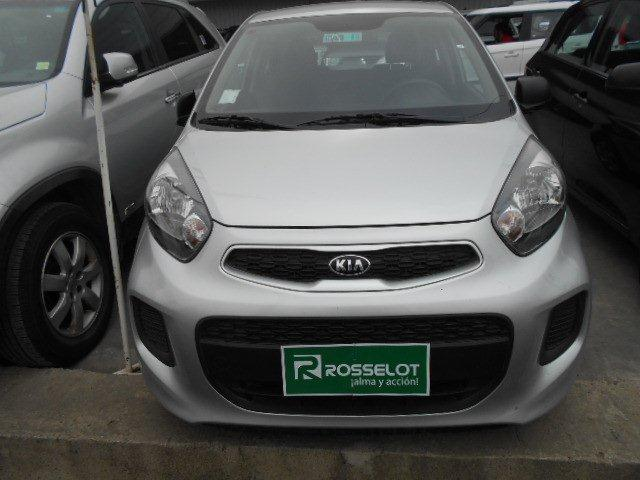 Autos Rosselot Kia New morning lx 1.0l 5mt eps-1615  2015
