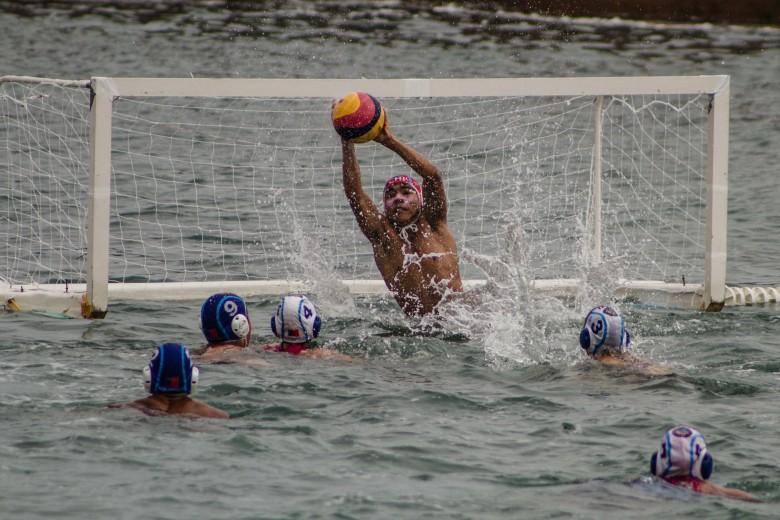 Exhibición de Aqua polo y Homenaje a ex jugadores en Balneario Municipal de Antofagasta. Fotos: Luciano Paiva Campos