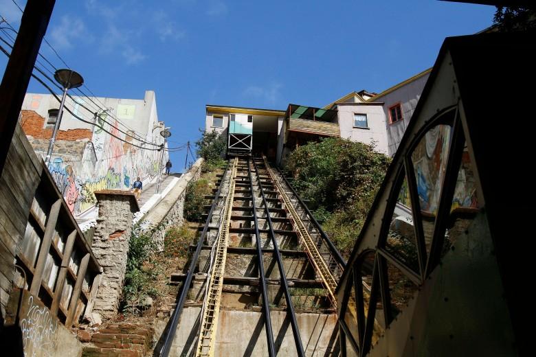 Restauración del Ascensor Cordillera.