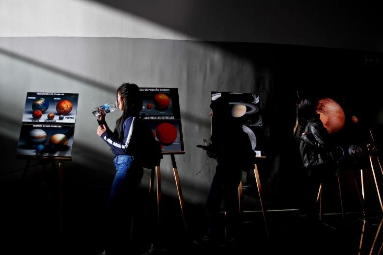 Exposición de astronomía