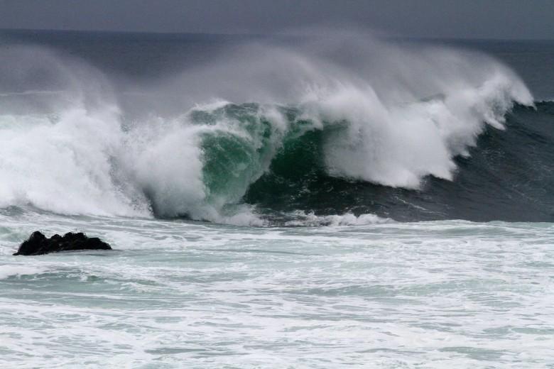 Mal tiempo y marejadas en Valparaíso.