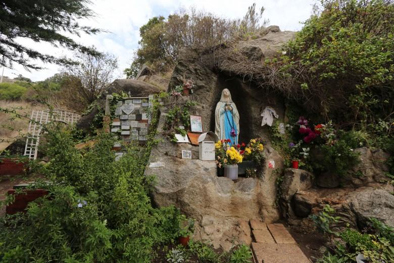 San Antonio Chile 27 de Abril 2016 Santuario Nuestra Señora de Lourdes en el cerro el cristo. Foto: Cristian Socrates Orellana.