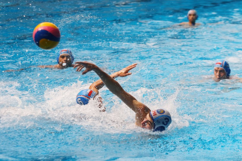 Campeonato zonal de waterpolo (día 2). Foto: Matías Quilodrán.