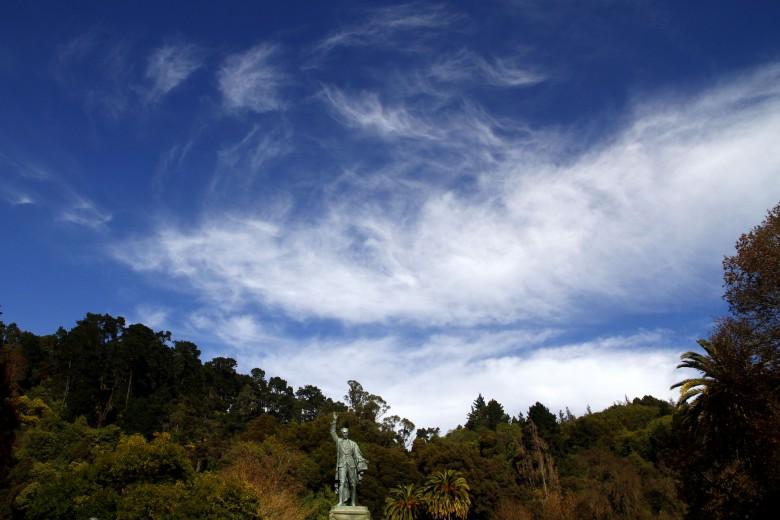 Concepción: Monumento a Juan Martínez de Rosas en el Parque Ecuador. Foto: Rodrigo Acuña D.