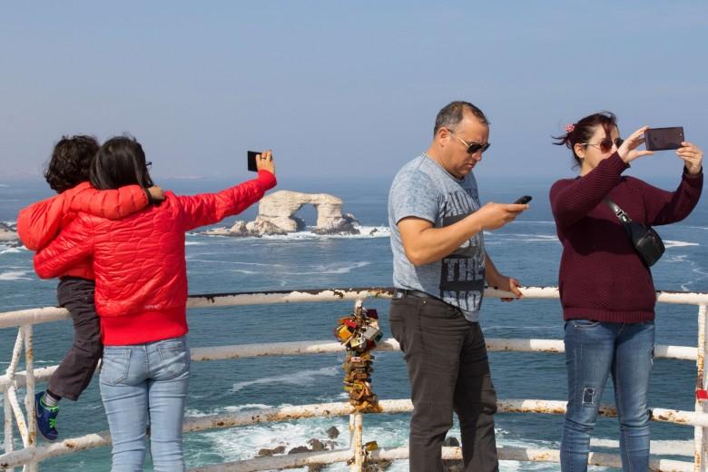Monumento natural La Portada, ubicado a 18km al norte de Antofagasta. Foto: Matías Quilodrán.