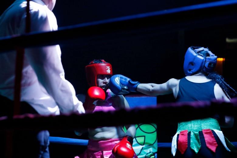 Copa Temuco de Boxeo en Gimnasio Campos Deportivos
