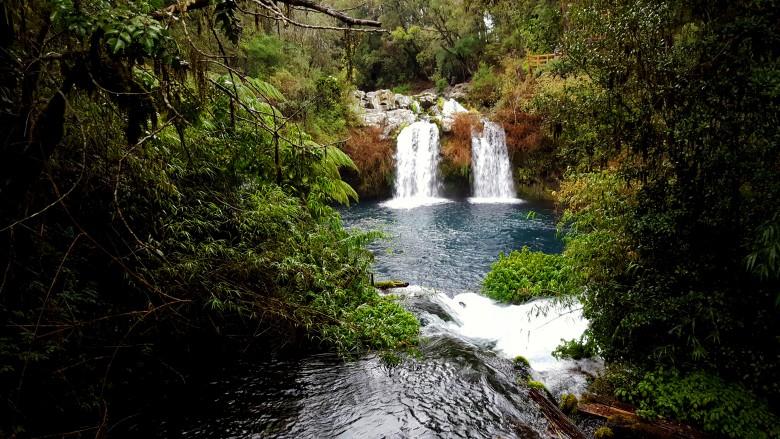 Caburgua: A 20 kilómetros de Pucón, Los Ojos del Caburgua son polo turístico imperdible. Foto Rodrigo Acuña D.
