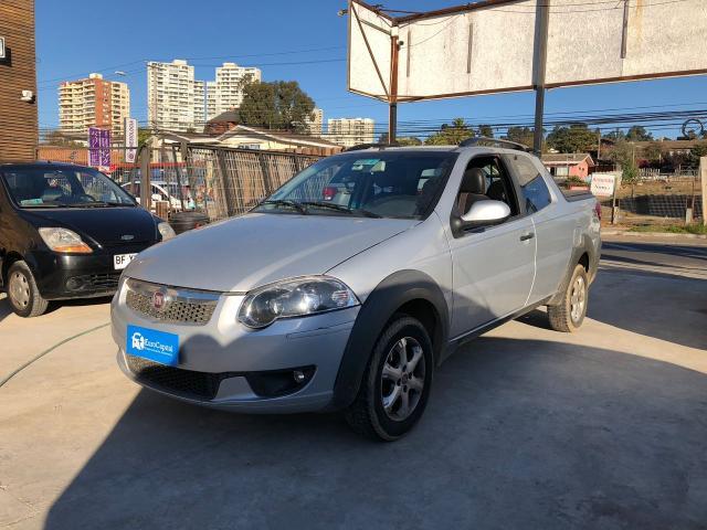 Fiat strada 1.4 trekking cab ext