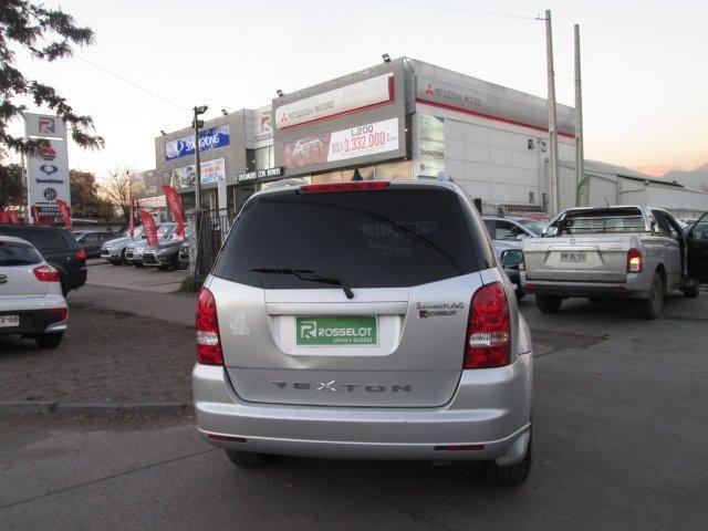 Camionetas Rosselot Ssangyong Rexton  xdi  2.7  mt  4x4 2012