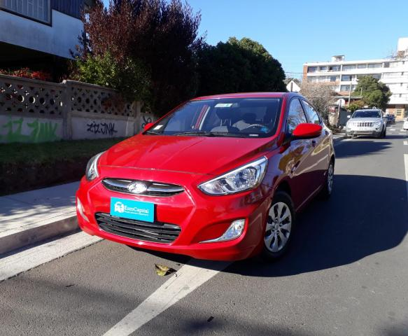 Autos Automotora RPM Hyundai Accent 1.4 manual gl ac 2ab 2017