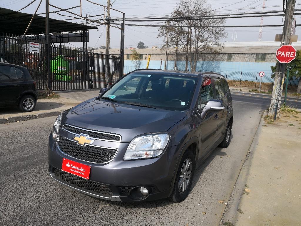Camionetas Automotora SERCAR Chevrolet Orlando 2014