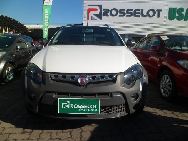 Camionetas Rosselot Fiat Strada 1.6 adventure d/c 2017