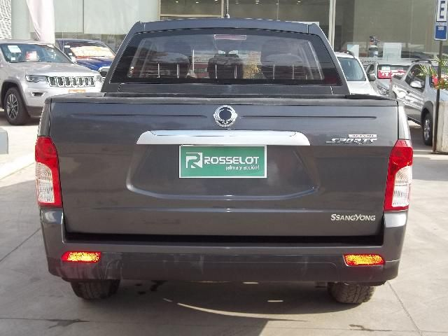 Camionetas Rosselot Ssangyong New actyon sport 4x2 2.0 mt aa - euro v - nas610aa  2017