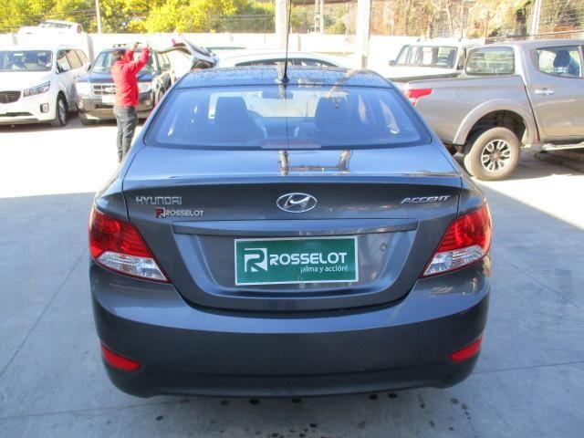 Autos Rosselot Hyundai Accent rb 1.4 2013