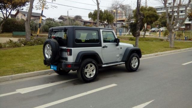 Jeep wrangler sport 3.6