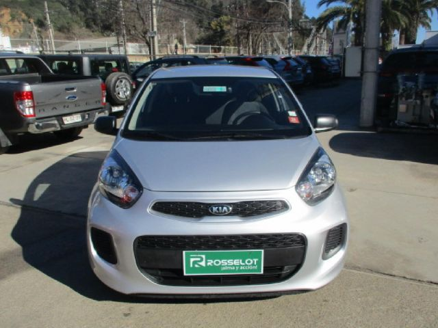 Autos Rosselot Kia New morning lx 1.0l 5mt eps - 1615  2015