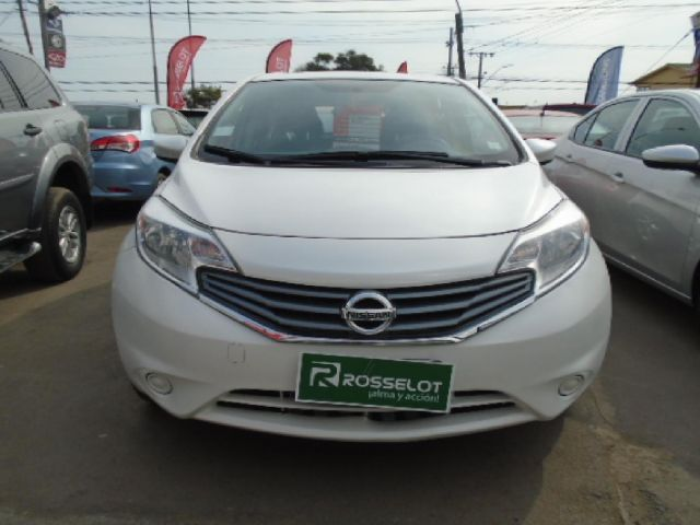 Autos Rosselot Nissan Note advance mt 2015