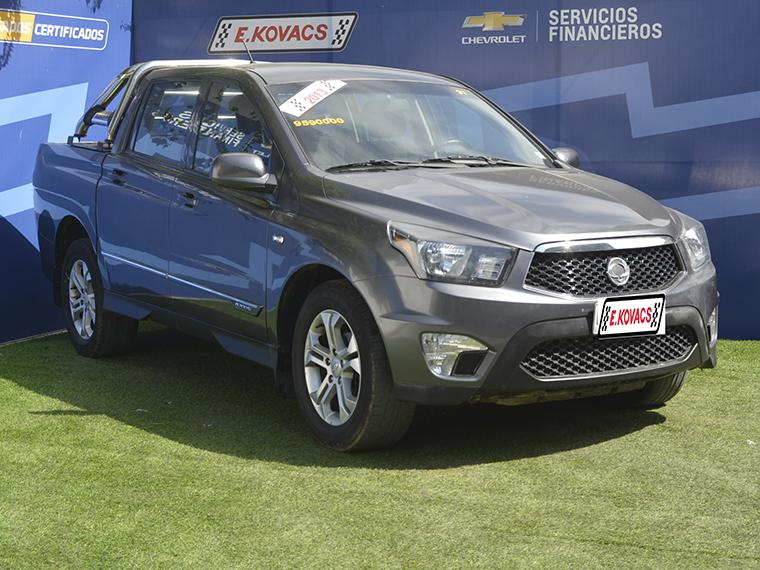 ssangyong actyon sports aut 2.0 4x2 s