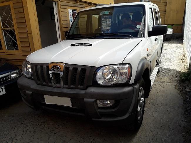 Camionetas Automotora Rodríguez Mahindra Scorpio GLX 2014