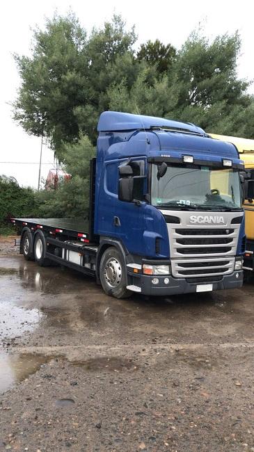 Camiones Automotora Rodríguez Scania 6340 2014