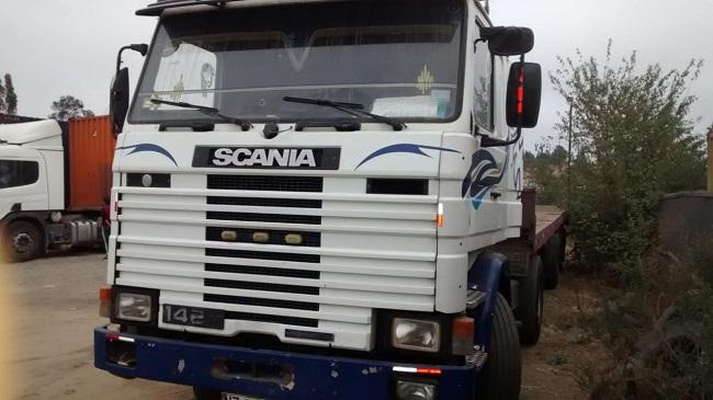 Camiones Automotora Rodríguez Scania 142 1987