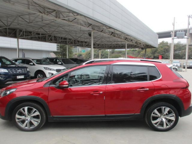 peugeot 2008 allure blue 1.6 e-hdi mt full