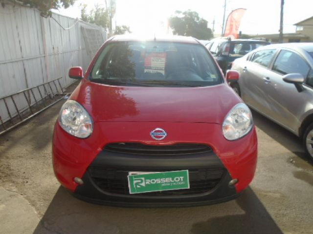 Autos Rosselot Nissan March sense  hatchback 1.6 2013