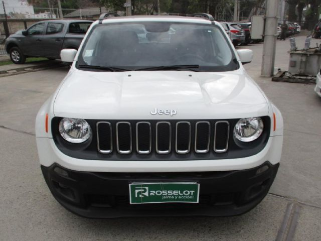 Autos Rosselot Chrysler Renegade longitud 4x4 at 2.4 2018