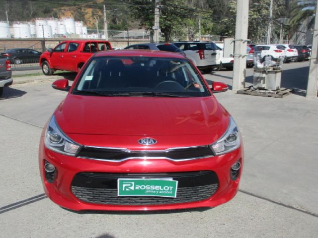 Autos Rosselot Kia Rio 4 ex 1.4l 6at full - 1891 2018