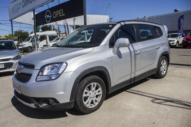 Camionetas Kovacs Chevrolet Orlando lt 2.4 at 2016