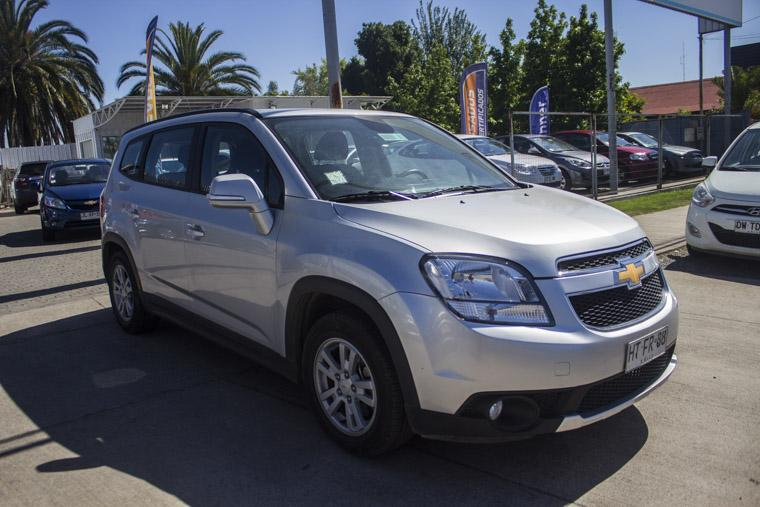 chevrolet orlando lt 2.4 at