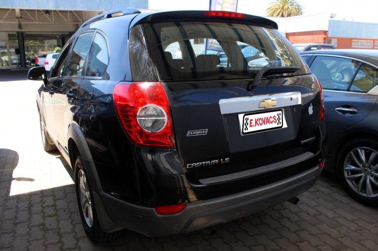 chevrolet captiva 2.4 gasolina mt fwd