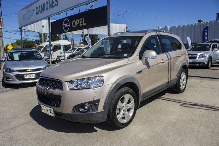 Camionetas Kovacs Chevrolet Captiva ii lt full awd 2012