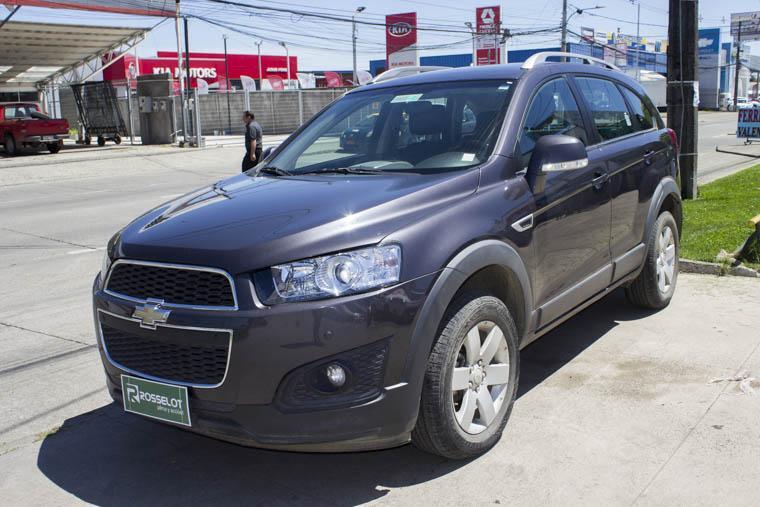 Camionetas Rosselot Chevrolet Captiva captiva 5 2.4 at 4x2 2015