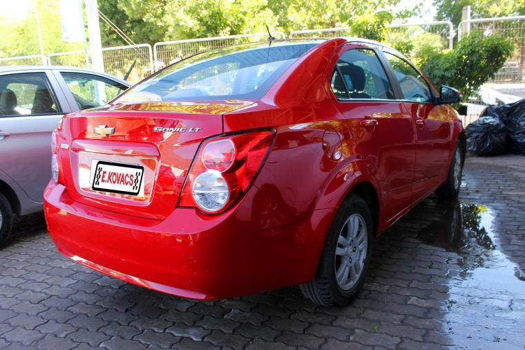 chevrolet sonic lt nb 1.6 mt