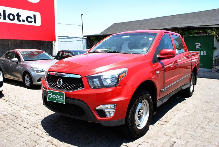 Camionetas Rosselot Ssangyong Actyon sportmt new 2015