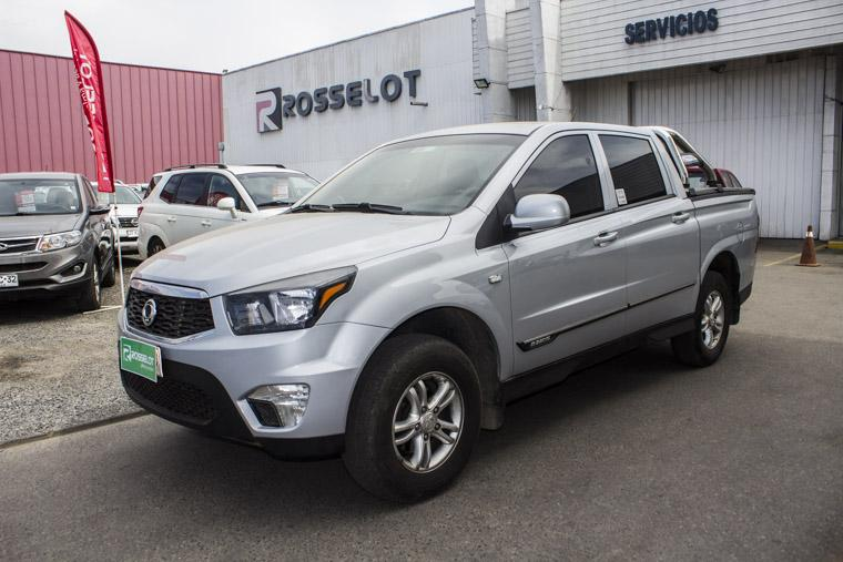 Camionetas Rosselot Ssangyong Actyon sportnew actyon sport mt 2016