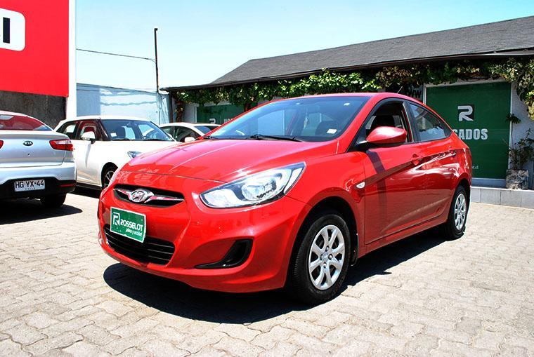 Autos Rosselot Hyundai Accent mt 2014