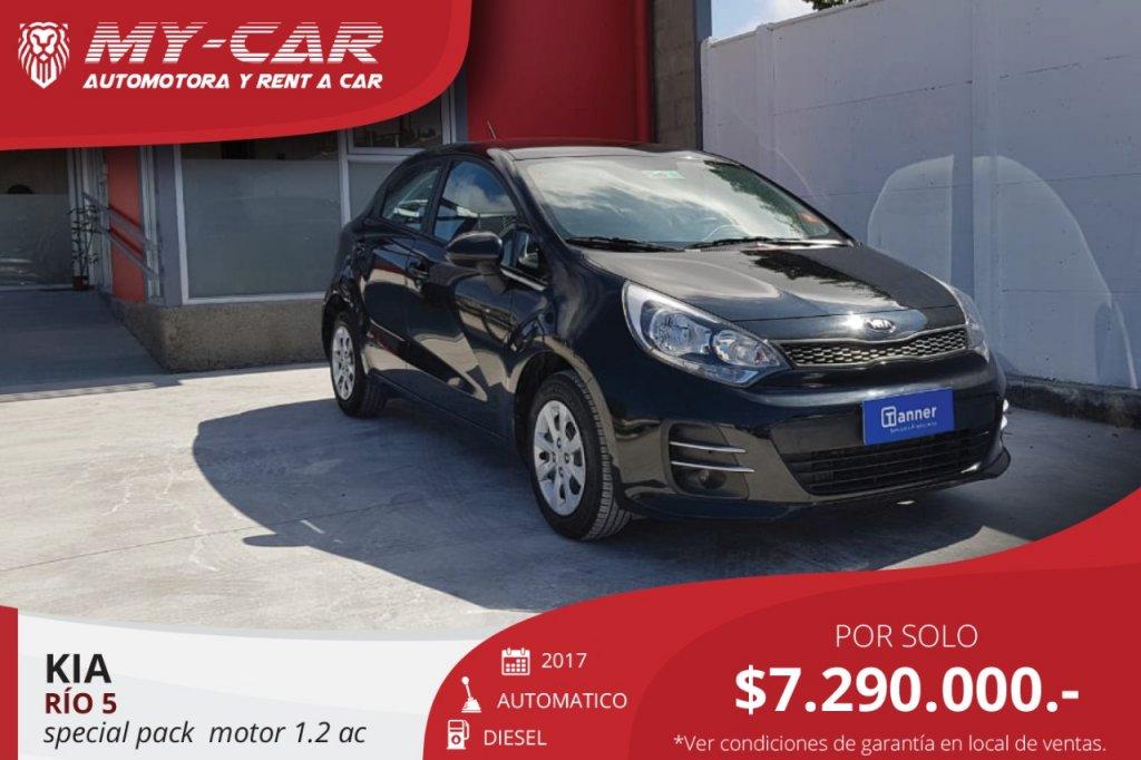 Autos My-Car Automotora y Rent a Car  KIA  RIO 5  2017