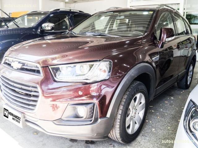 Camionetas Hernández Motores Chevrolet Captiva 2017