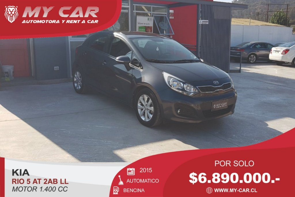 Autos My-Car Automotora y Rent a Car  KIA  RIO 5  2015
