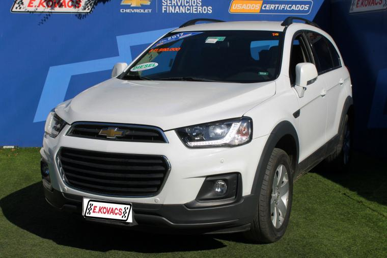 Camionetas Kovacs Chevrolet Captiva vi 2.2d awd 6mt 2017