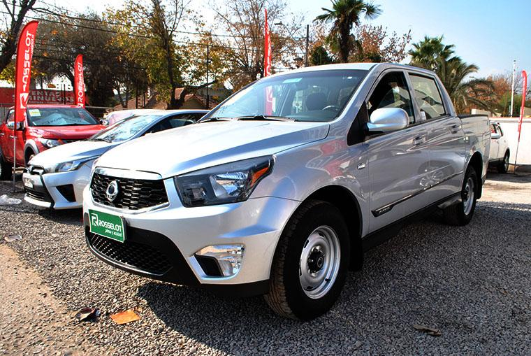 ssangyong actyon-sport new actyon sport mt